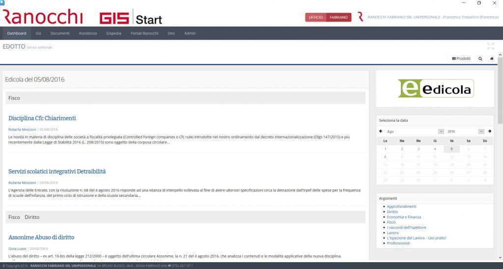 GIS Start - Editoria e software